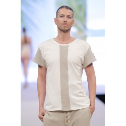 Men Hemp Tshirt
